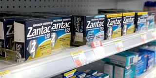 Zantac shelves